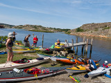 Lag syd sjösatte i trakten av Fjällbacka där lag nords bilar parkerades....