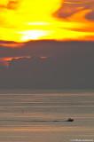 Denna bild sammar fattar turen väl... Sol & mörka moln...