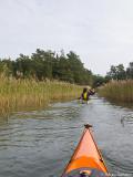 Äntligen fick undertecknad koll på att denna kanal var paddelbar.