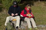 Lars & Irmelie körde frystorkat till lunch.