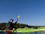 Björn som tog ett litet dopp dagen till ära blir nog 2011 års sista badare,,,