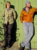 Kattis & Christopher, Lite klädkatalogvarning är det på bilden...