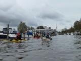 Trosa kanal på utvägen