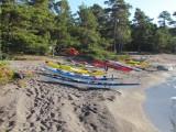Stranden med armadan