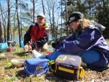 Rolf och Kattis på Fifång fixar lunch
