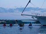 Vi tar sikte på kvällens sista bro, Oxhålsbron (det visste ni inte att den hette eller?)