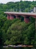 Under nya järnvägsbron