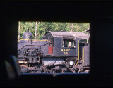 M&NF #12, as seen from the cab of Baldwin #1200