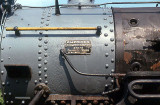 ALCO builders plate on #12