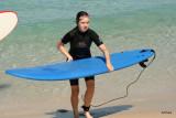 Surfing at Trigg Beach