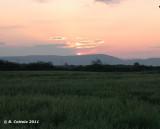 Skala Kallonis zonsopgang - Sunrise Skala Kallonis
