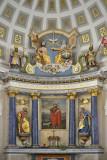 Close-up in the Evolene church