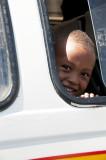 Child in bus
