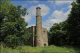 ruins of lower engine house, Drakewalls Mine, Gunnislake, Cornwall