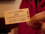 Pooch's train ticket :-)