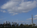 The growing Business Bay and Burj Dubai skyline.JPG