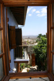View from upstairs looking towards Larnaca