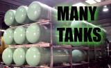 Many tanks