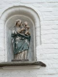 Staande Maria met Kind - Wollestraat