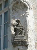 Zittende Maria met Kind - Dijver 15