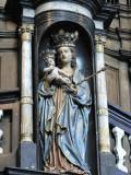 Staande Maria met Kind (koningin) - O.L.Vrouwekerk