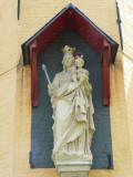 Maria met Kind (koningin) - Katelijnestraat Bogaerdenkapel