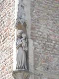 Staande Maria met Kind - Carmersstraat 21