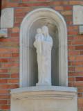 Staande Maria met Kind - Stijn Streuvelsstraat 32