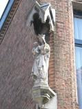 Staande Maria met Kind (koningin) Korte Lane 17