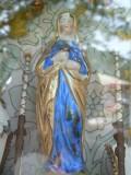 Staande Maria( Maagdenstraat 34) detail