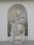 Zittende Maria met Kind - Moerstraat 36