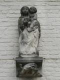 Staande Maria met Kind - Zilverpand