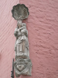 Staande Maria met Kind (koningin) - Zilverstraat 28