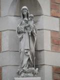 Staande Maria met Kind - Mortierstraat 27