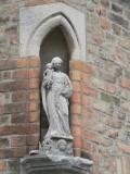Staande Maria met Kind - Grauwwerkersstraat 34