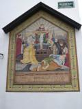 Kruistafereel - Sint-Jorisstraat hoek Poitevinstraat