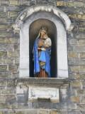 Staande Maria met Kind - Koningin Elisabethlaan 49