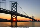 056  Sunrise Over The Ben Franklin Bridge.JPG