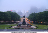 059  Foggy Morning On The Ben Franklin Parkway.JPG