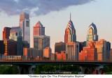 088  Golden Light On The Philadelphia Skyline.JPG