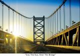 095  Into The Sun, Over The Bridge.JPG