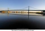 127  Morning At The Benjamin Franklin Bridge.JPG