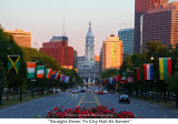 158  Straight Down To City Hall At Sunset.JPG