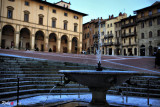 Piazza Vasari - Arezzo Toscana
