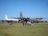 Lochkeed C-130 Hercules & Boeing TC-135S
