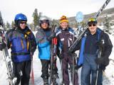 Barbershop boys ski vacation