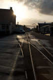 Old Rail Sidings, Astoria, Oregon