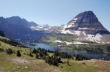 Hidden Lake and Bearhat Mountain