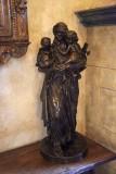 Statue in Gothic Suite