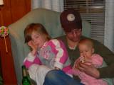 Ella, Dave, and Chloe